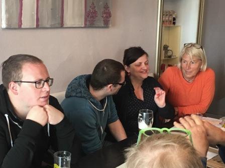 Politischer Frühschoppen im Schwarzen Adler